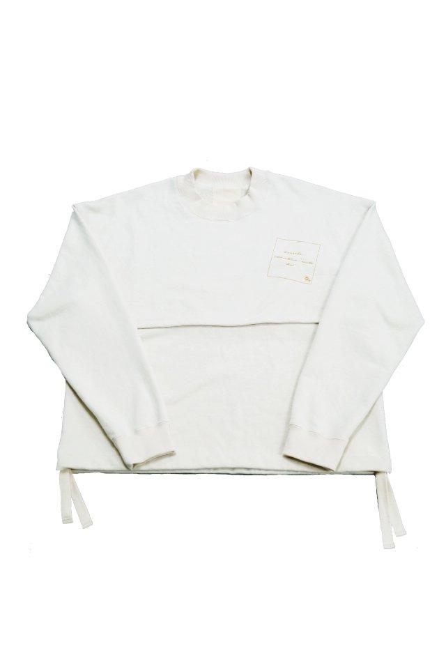 【受注商品9月下旬-10月末お届け予定】kenichi. - Double face sweat shirt