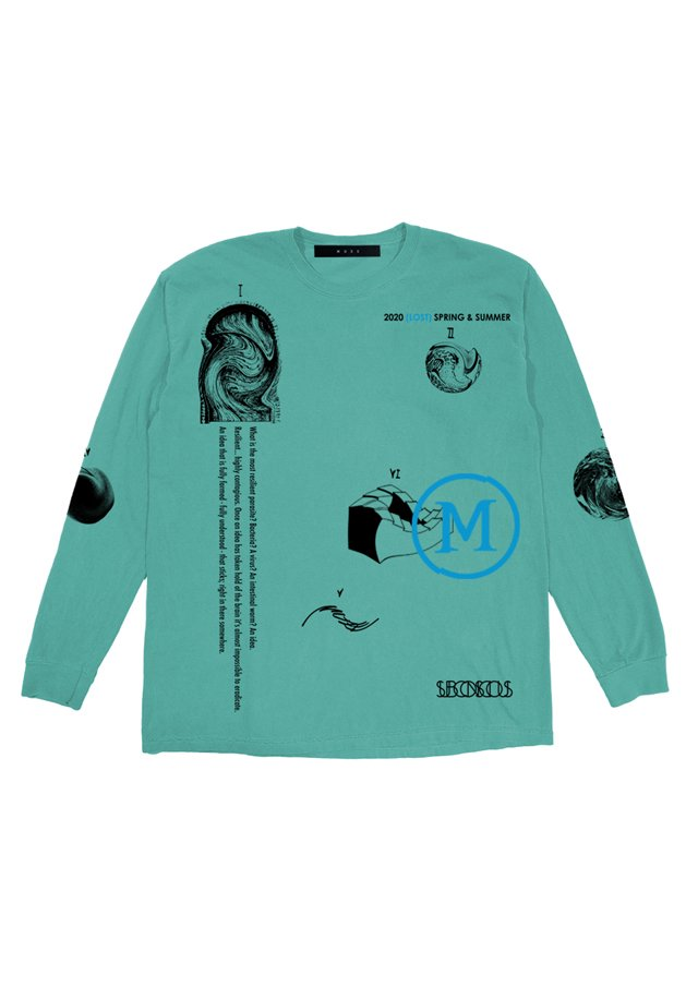MUZE BLACK LABEL - DREAMS L/S TEE(MINT)
