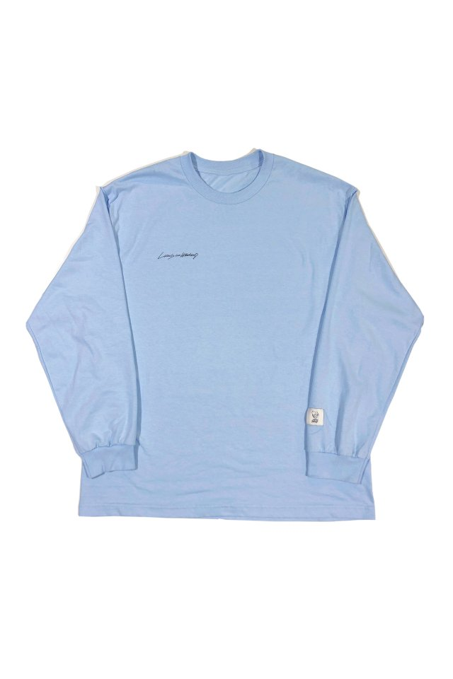 【6月中旬お届け】Lucas . co Weekend - Lucas . co Weekend  L/S 001(SKYBLUE)