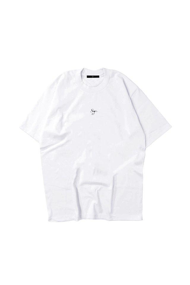 【先行予約アイテム限定商品8月下旬-9月上旬お届け予定】Sign1019 - Sign1019 embroidery T-SH(WHITE)