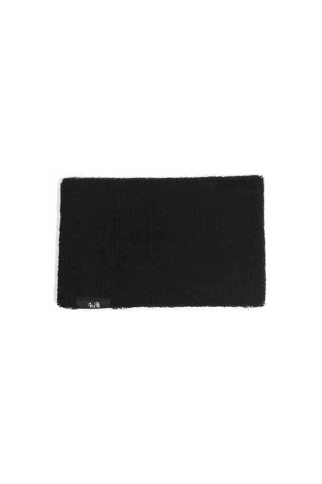 MUZE BLACK LABEL - MUZE 未渦 LOGO HAIR BAND(BLACK)