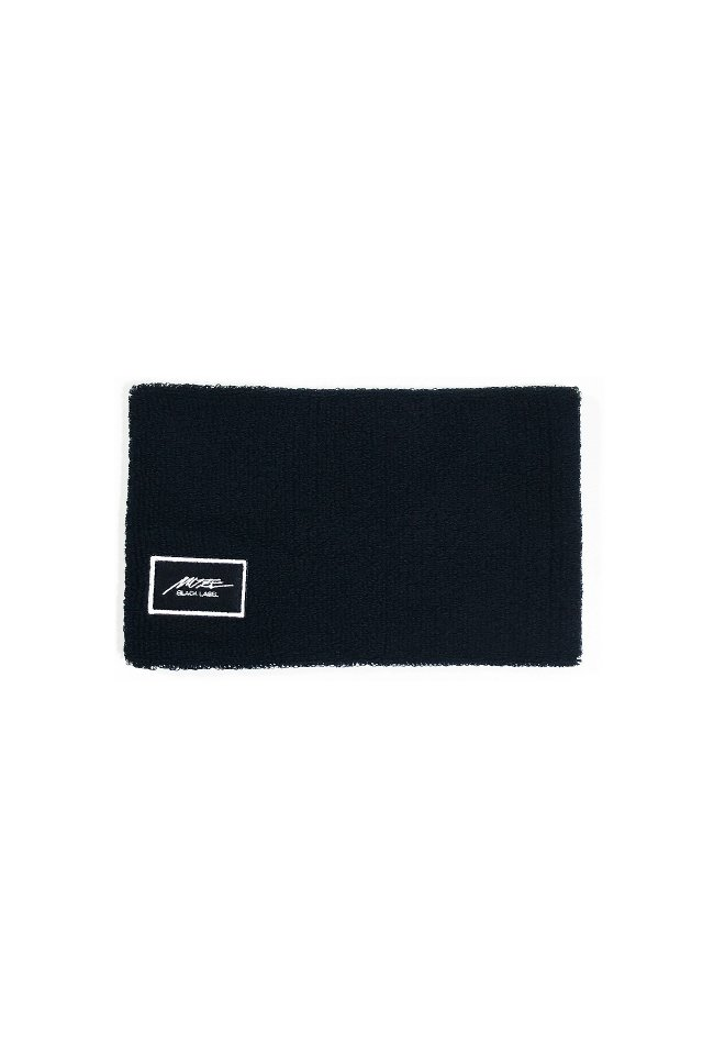 MUZE BLACK LABEL - MUZE EMBROIDERY PATCH HAIR BAND(BLACK)