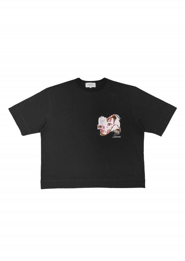 【20%OFF】PRDX PARADOX TOKYO - HALF SLEEVE T-SHIRTS-LOST WEEKEND(BLACK)