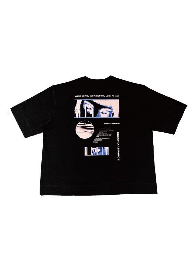 【40%OFF】PRDX PARADOX TOKYO - HALF SLEEVE T-SHIRTS-FARCE(BLACK)