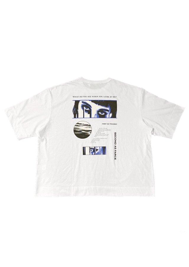 PRDX PARADOX TOKYO - HALF SLEEVE T-SHIRTS-FARCE(WHITE)