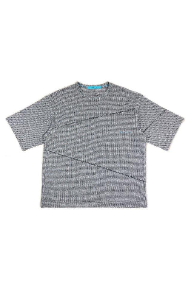 MUZE turquoise label - COOLMAX LYNX MERCERIZED T-SH(NOISE)