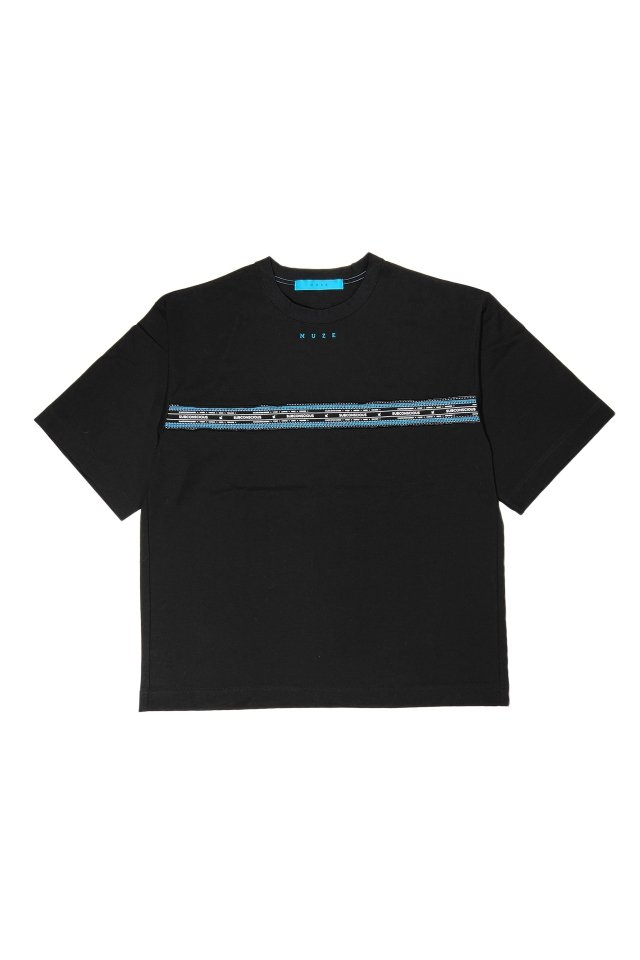 MUZE turquoise label - SUBCONSCIOUS T-SH(BLACK)
