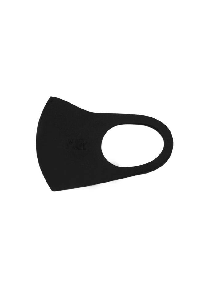 【10月中旬お届け予定先行予約商品】MUZE - MUZE EMBROIDERY 2020AW LOGO MASK(BLACK×BLACK)