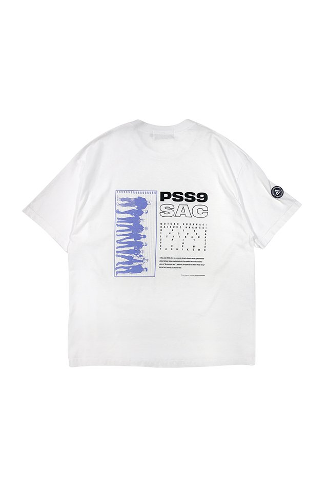 PRDX PARADOX TOKYO × 攻殻機動隊 SAC_2045 - SECTION 9 TEE( WHITE )