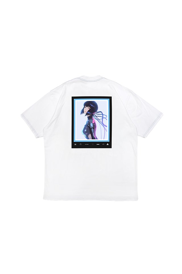 MUZE × 攻殻機動隊 SAC_2045 - 2045 Keyvisual  T-SHIRTS ( WHITE )