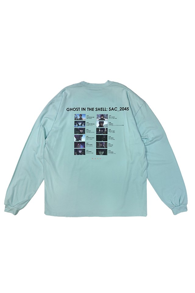 MUZE × 攻殻機動隊 SAC_2045 - 2045 Chapter L/S  T-SHIRTS ( MINT )