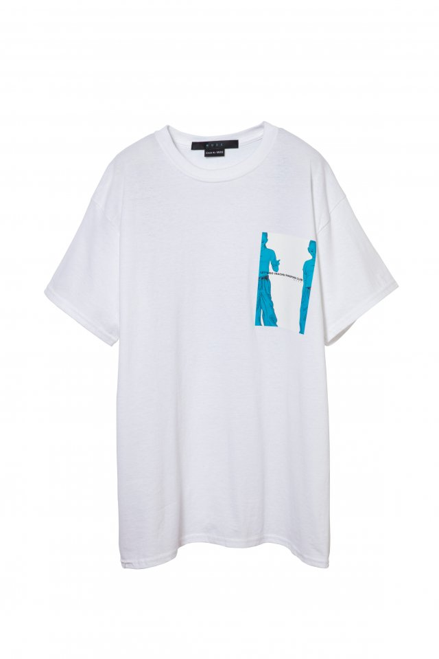 MUZE×INACHU - KYOKO T-SH-(WHITE)