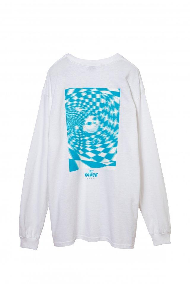 MUZE×INACHU - SHINESHINEDAN PANDA L/S T-SH-(WHITE)