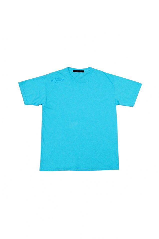 MUZE BLACK LABEL - DEEP PSYCHOLOGY T-SH(LAGOON BLUE)