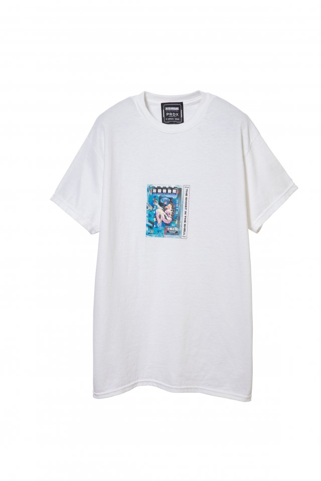 PRDX PARADOX TOKYO×攻殻機動隊 - THE GHOST IN THE SHELL COMIC T-SHIRTS(WHITE)