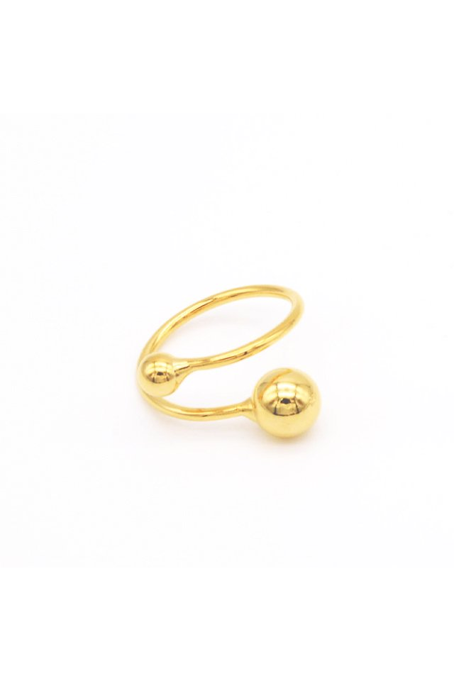 【coming soon】 unclod - BALL RING (GOLD)  アンクロッド ボール リング