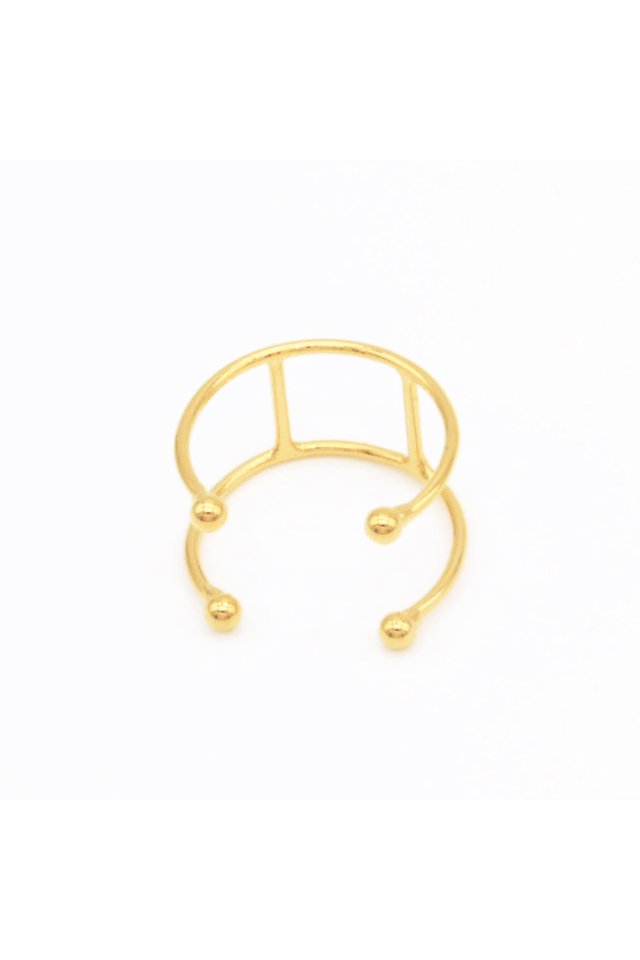 unclod - TINY BALL RING-B (GOLD) アンクロッド タイニー ボール リング