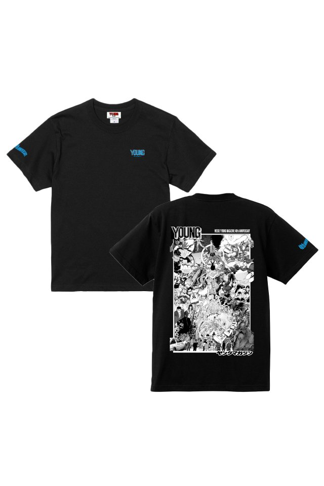 YM40th Anniversary -『ヤンマガ』T-SHIRTS(BLACK)
