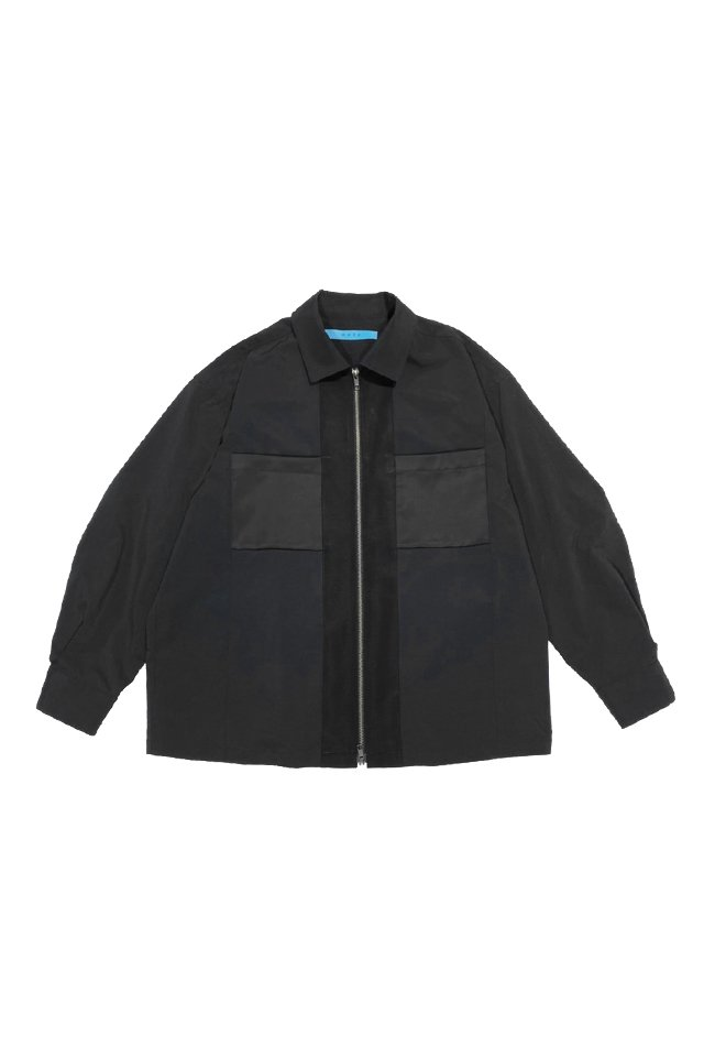 MUZE TURQUOISE LABEL - COOLMAX WIDE BLOUSON(BLACK)