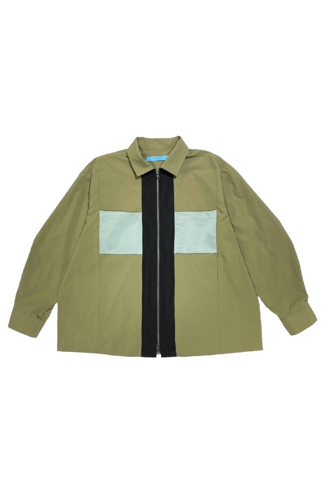 MUZE TURQUOISE LABEL - COOLMAX WIDE BLOUSON(OLIVE GREEN)