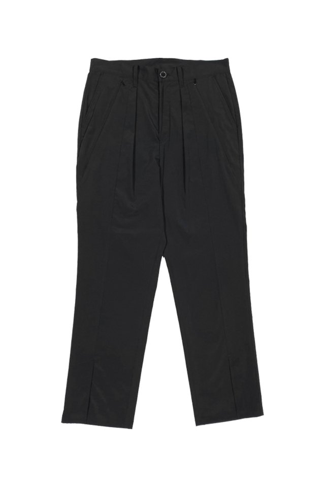 MUZE TURQUOISE LABEL - COOLMAX SLIT W POCKETS SLACKS(BLACK)