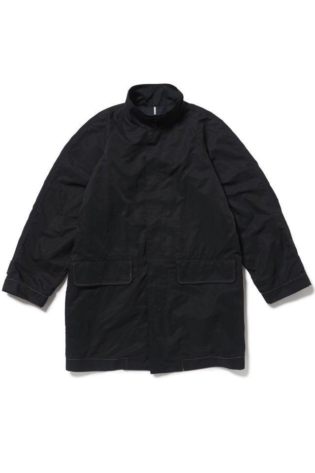 【10%OFF】ETHOS - W CAPE COAT (BLACK) 20-21AW COLLECTION