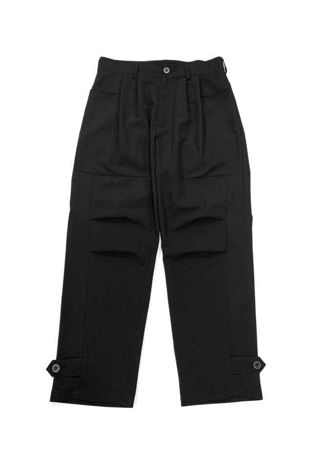 MUZE TURQUOISE LABEL - SWITCHING SLACKS(BLACK)