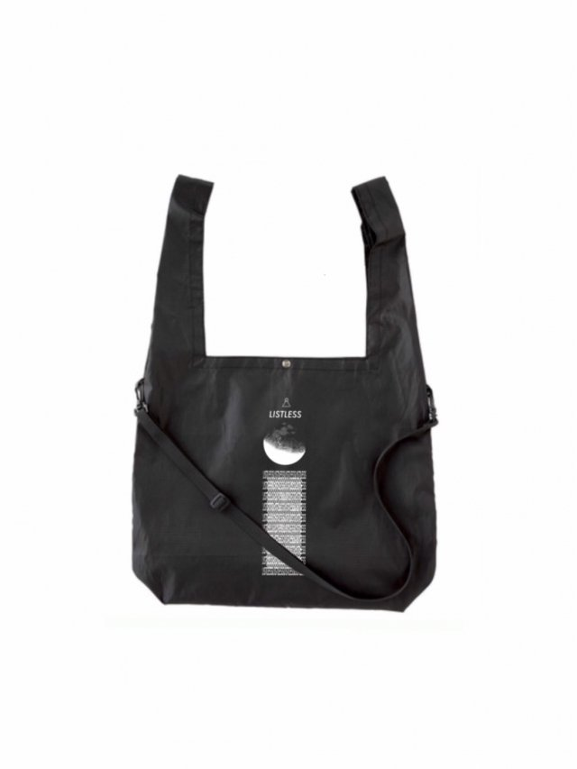 【30%OFF】LISTLESS−2WAY ECOBAG(BLACK)
