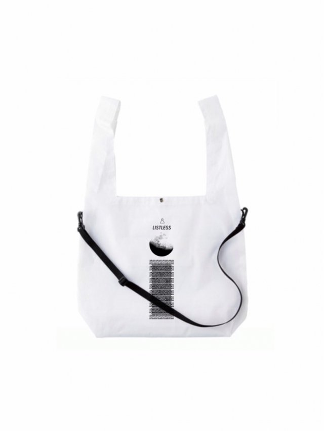 【30%OFF】LISTLESS−2WAY ECOBAG(WHITE)