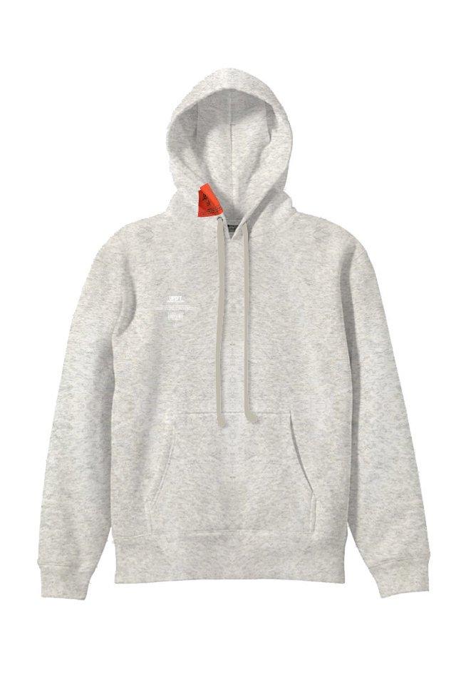 【受注商品3月中旬お届け予定】UPD'Tー Logo Pullover Hoodie (ASH GRAY)