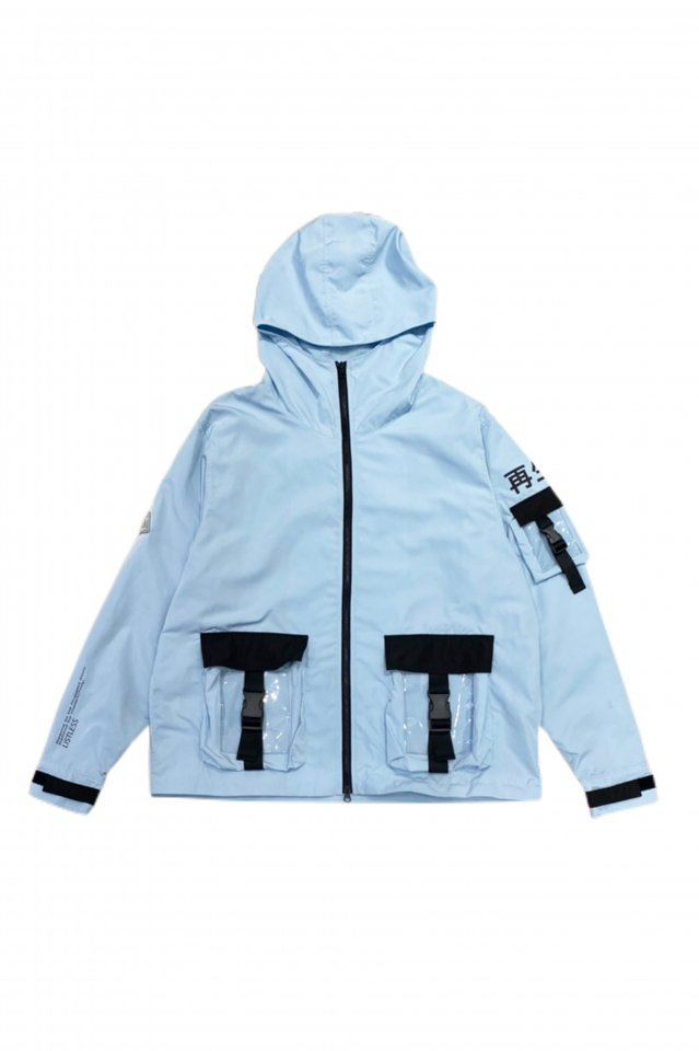 LISTLESS - 『再生3.0』-SET UP MOUNTAIN PARKA-(SPACE BLUE)