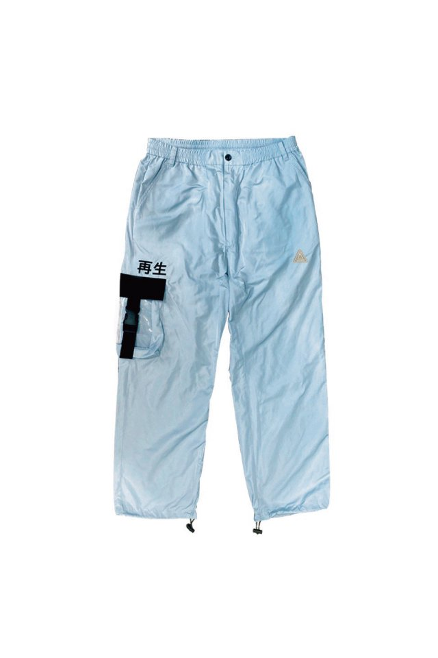 LISTLESS - 『再生3.0』-SET UP PANTS-(SPACE BLUE)