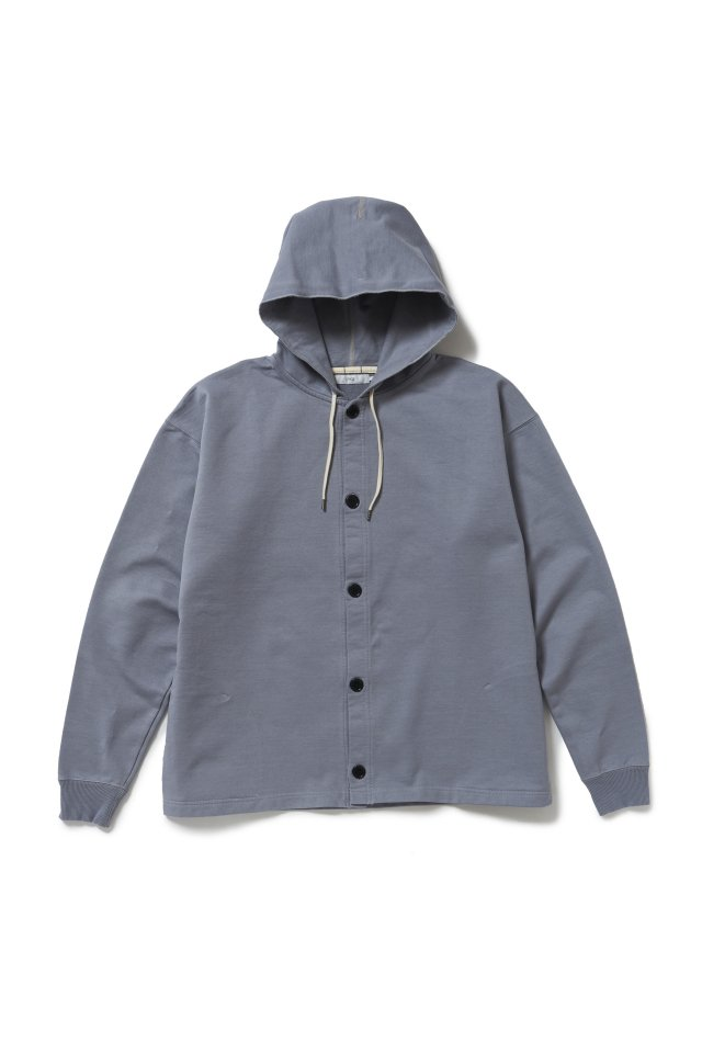 ETHOS - HEAVY WEIGHT OPEN PARKA (CLOUDY) エトス 21SS COLLETCION