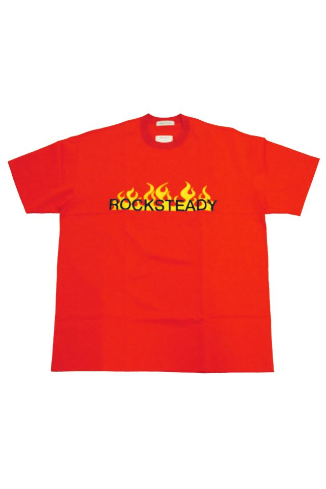TENDER PERSON - ''ROCKSTEADY'' TEE(RED) 2021SSCOLLECTION