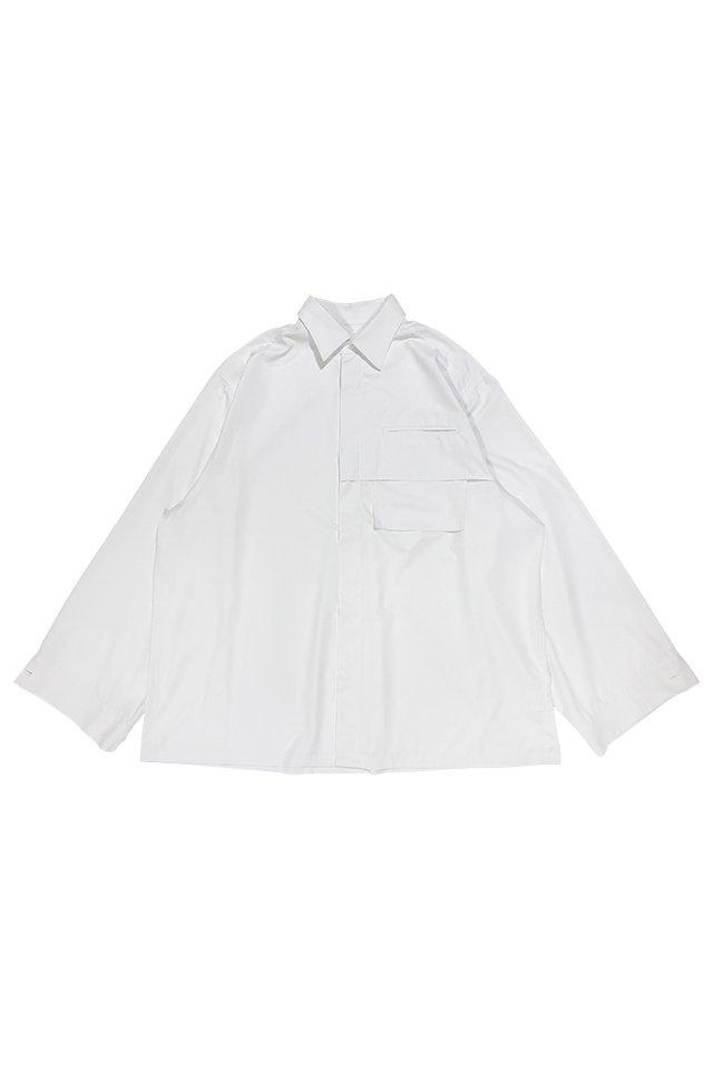 PRDX PARADOX TOKYO- MICRONOVA™ BIG SHIRTS(WHITE)