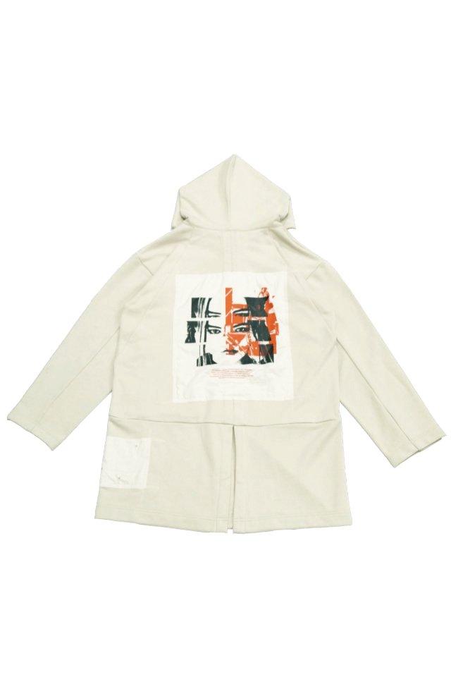 【40%OFF】PRDX PARADOX TOKYO - HOODED LIGHT COAT ''INSIDE FLESH''(BEIGE- A )