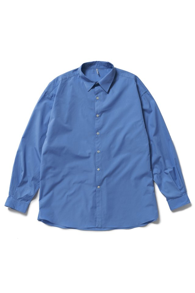 ETHOS - T.M. PIMP SHIRTS (WORKER BLUE) 21SS COLLECTION