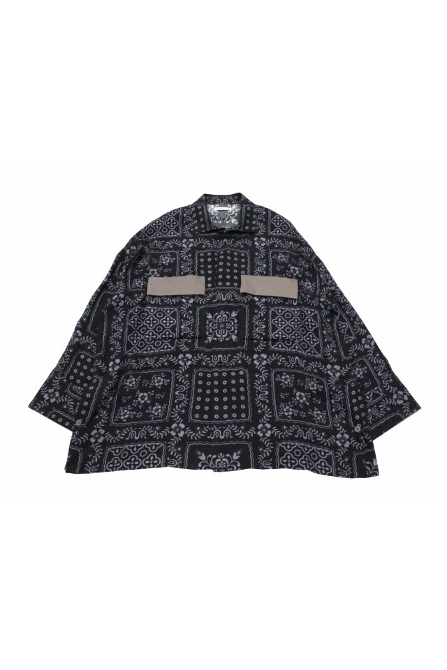 SHINYAKOZUKA - WORK SHIRT -ISH JACKET WITH REYN SPOONER (MIDNIGHT) シンヤコズカ 2021年春夏コレクション
