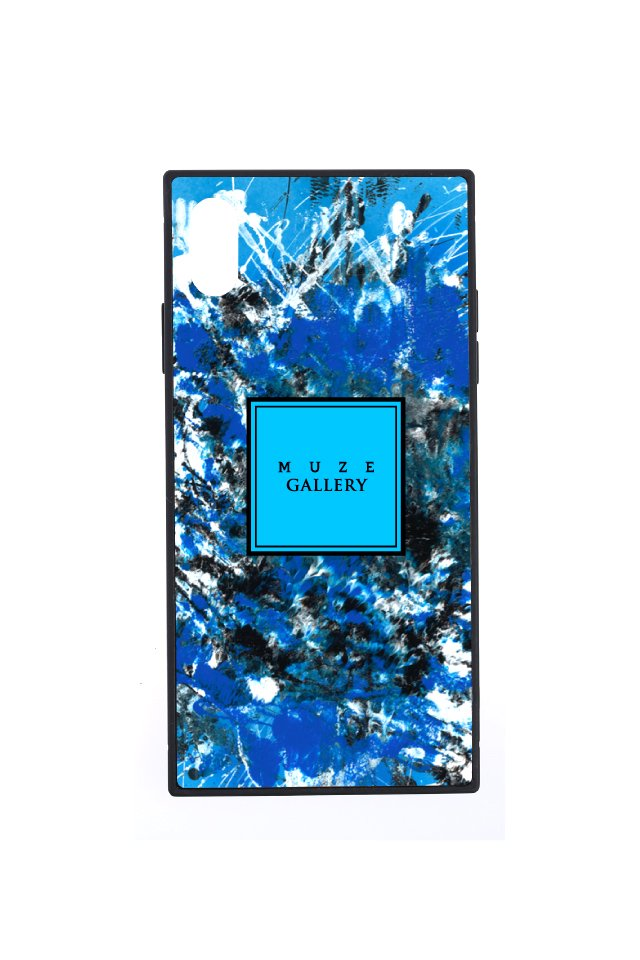 【6月中旬お届け予定先行予約商品】MUZE GALLERY - LEATHER SMART PHONE CASE(AFFIRMATION)