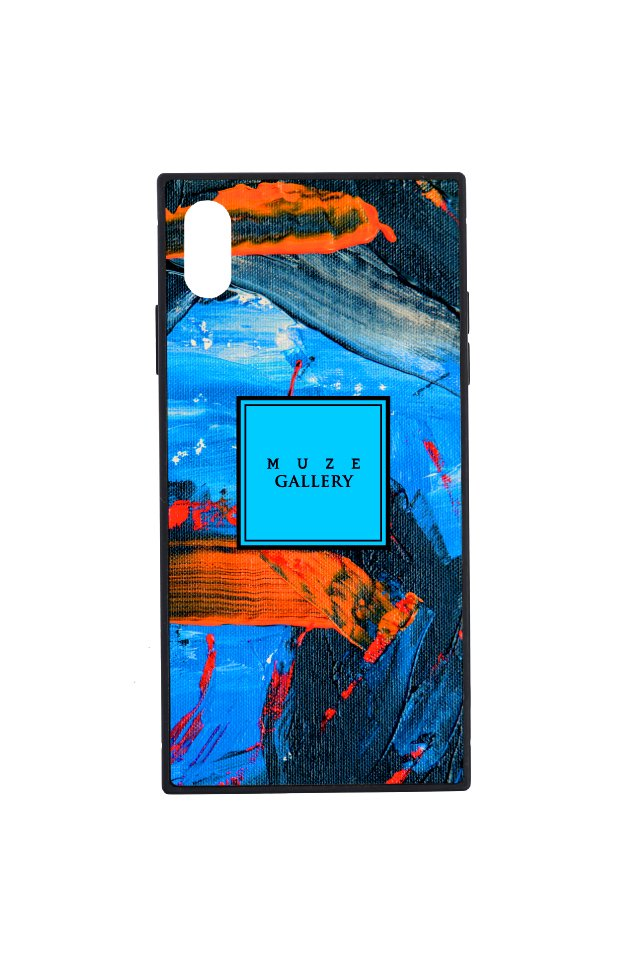 【6月中旬お届け予定先行予約商品】MUZE GALLERY - LEATHER SMART PHONE CASE(PAINT)