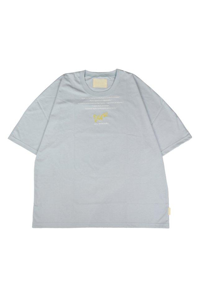kenichi. - <Dear> dolman T-shirt(Baby blue)