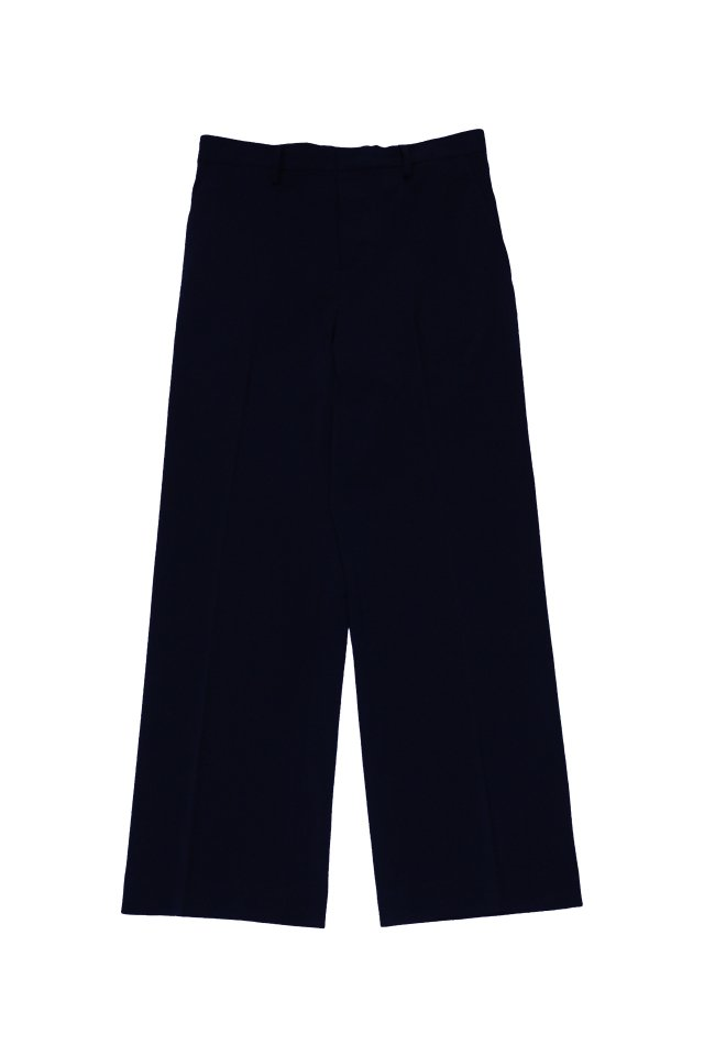 kenichi. - Straight-leg suit trousers(Navy)