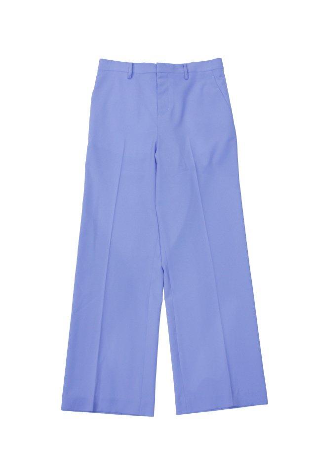 kenichi. - Straight-leg suit trousers(Zenith blue)