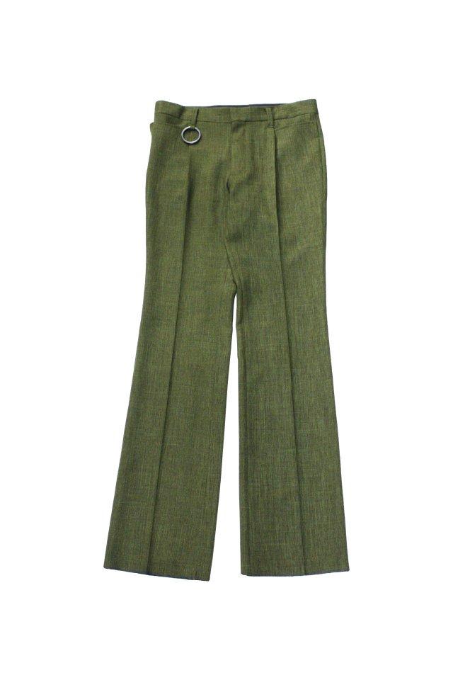 MINUS - SIGUNATURE TROUSERS(GREEN) マイナス 2021年春夏コレクション シグネチャー トラウザーズ