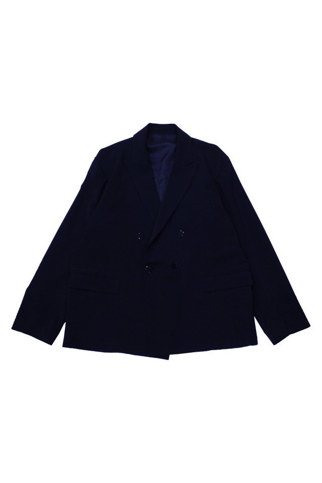 kenichi. - Double-brested suit jacket(Navy)