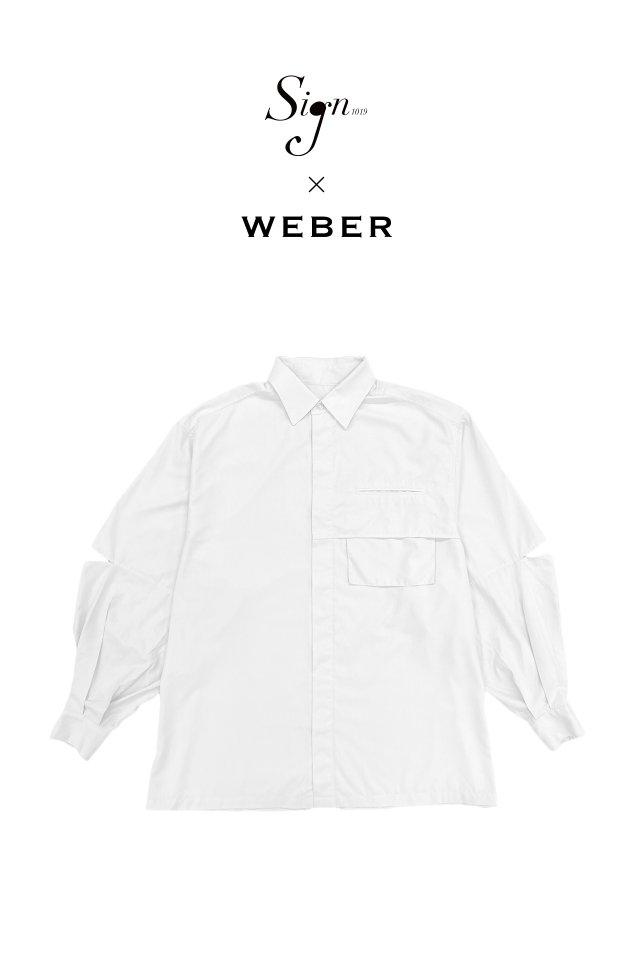 【先行予約アイテム限定商品10月下旬-11月上旬お届け予定】Sign1019 × WEBER - Sign1019 Dance SH(WHITE)