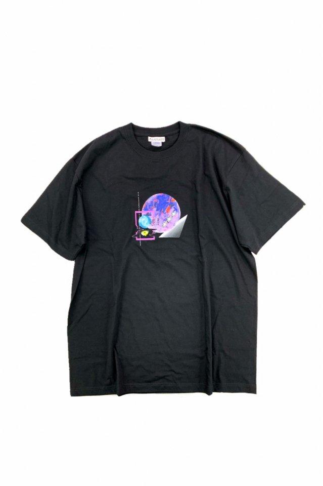 LISTLESS - T-shirt「半透明人間」(BLACK)