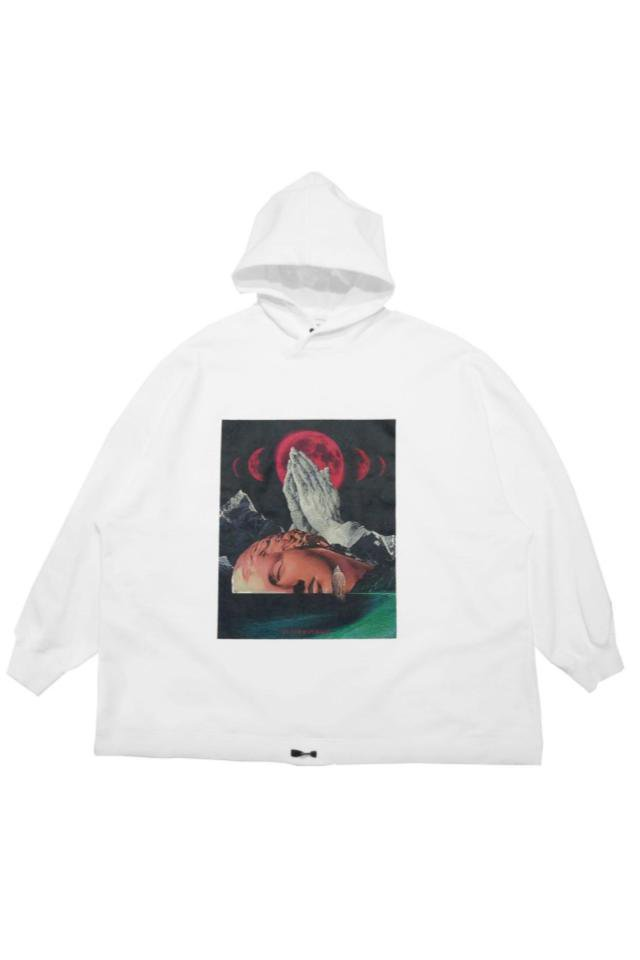 TENDER PERSON - GATSYO HOODIE(WHITE) 2021AW COLLECTION
