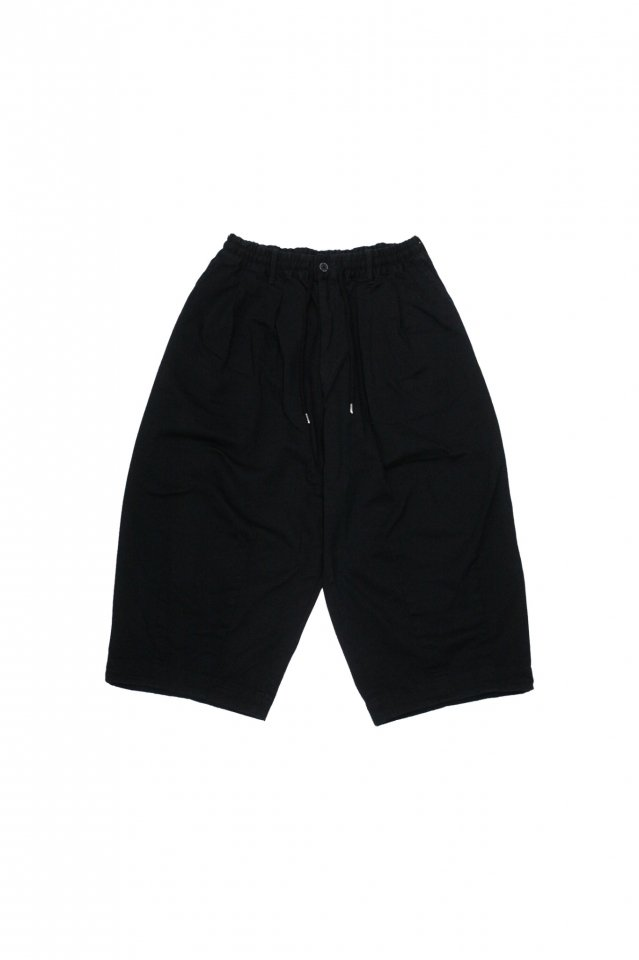 <img class='new_mark_img1' src='https://img.shop-pro.jp/img/new/icons1.gif' style='border:none;display:inline;margin:0px;padding:0px;width:auto;' />FACCIES - Katuragi Wide Pants (Black)