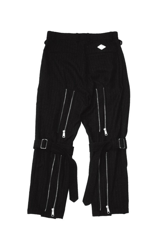 <img class='new_mark_img1' src='https://img.shop-pro.jp/img/new/icons1.gif' style='border:none;display:inline;margin:0px;padding:0px;width:auto;' />el conductorH - BELTED BONDAGE TROUSERS(BLACK)